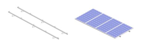 Coplanar Con Salvatejas Tab Baterias Y Material Solar